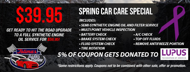 Spring Car Care Speical