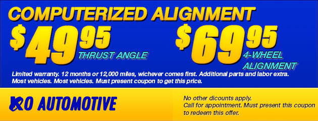 Computerized Alignment Coupon