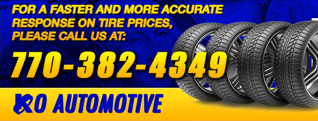 Faster and more Accurate response on Tire prices