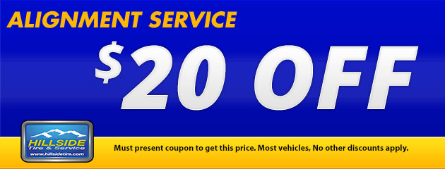 $20 Off Alignment Service