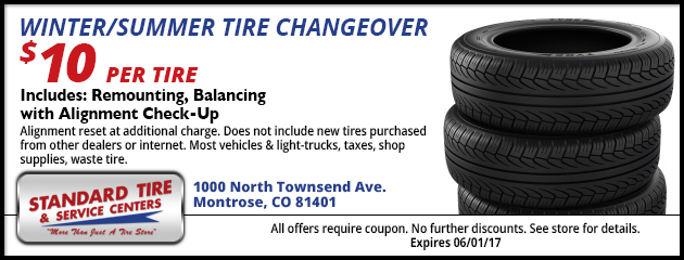 Winter/Summer Tire Changeover