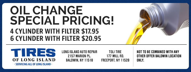 Oil Change Special Pricing!