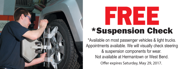 Free Suspension Check