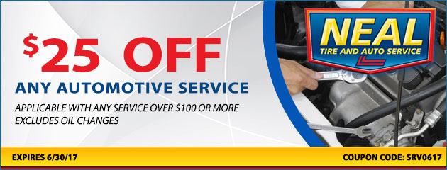 $25 OFF Any Service of $100 or more
