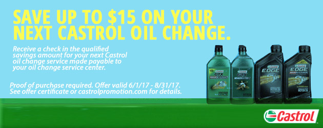 Castrol Save up to $15