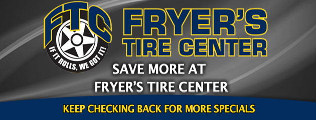Fryers Tire_Coupon Specials