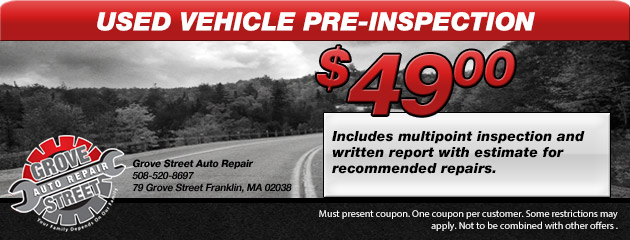 Used Vehicle Pre-Inspection