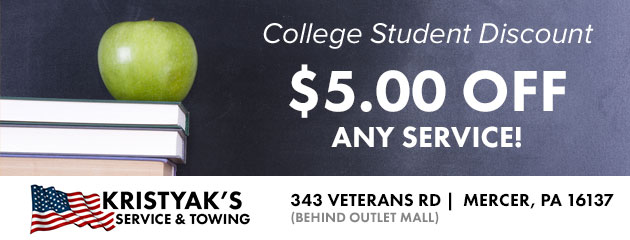 College Students $5 Off