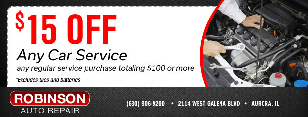 $15 Off Any Service Totaling $100 or More