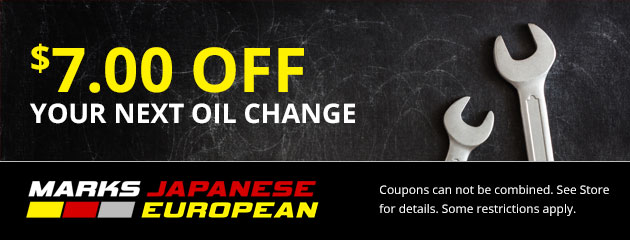 $7 Off Your Next Oil Change