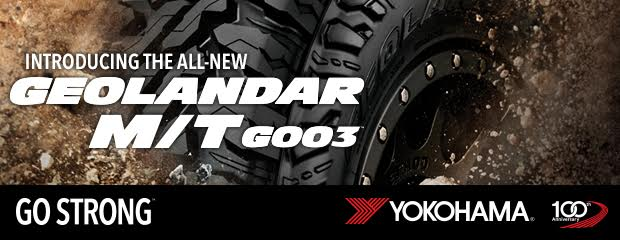 Introducing the GEOLANDAR M/T G003™