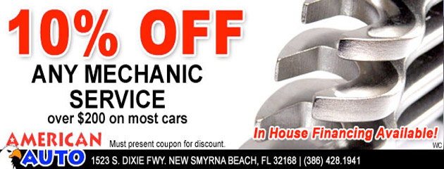 10% Off Any Mechanic Service