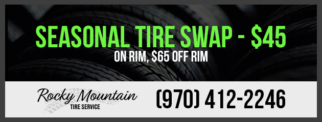 $45 Seasonal Tire Swap