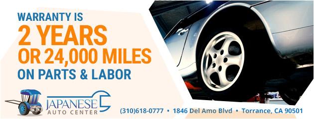 Torrance Ca Auto Repair Shop Japanese Auto Center