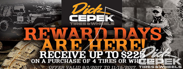 Dick Cepek - Up to $225 On Wheels & Tires