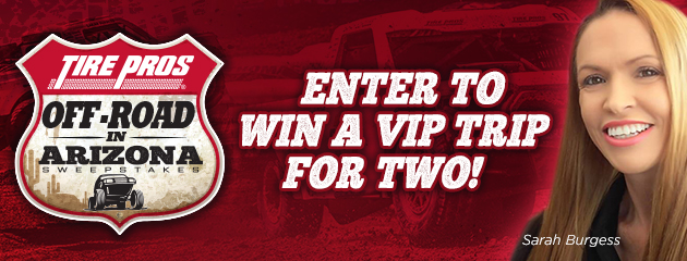 Tire Pros - Off Road in Arizona Sweepstakes