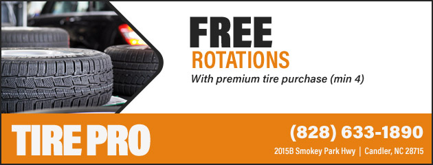 Free Tire Rotations With Purchase of 4 Tires