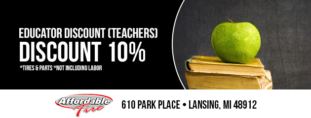 10% Teacher Discount