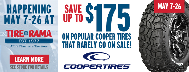 Cooper - Save up to $175 on Select Tires