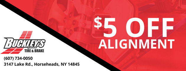 $5 Off Alignments