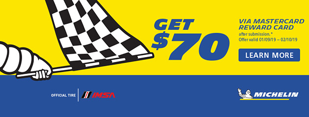 Michelin- $70 Reward Card IMSA