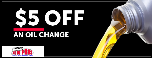 5% Off Oil Change