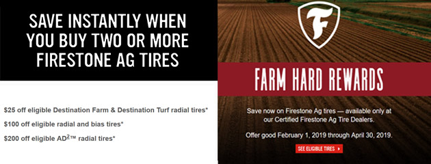 Firestone - Farm Hard Rewards
