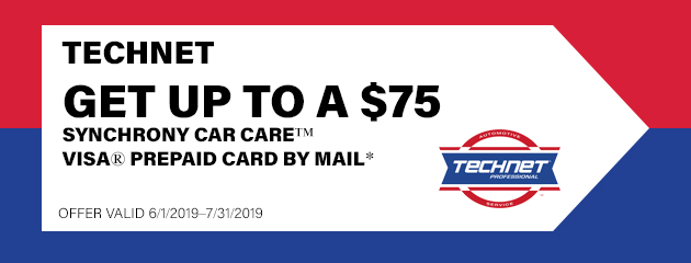 Technet - Up to $75 Visa Prepaid Card