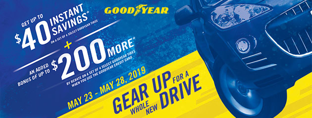 Goodyear TSN - Tent Sale Event