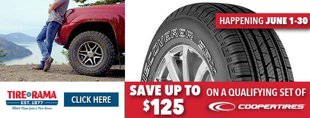 Tire Rama Cooper Tires - Up to $125 Rebate
