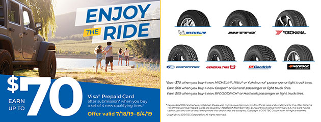 T3 - Enjoy the Ride $70 Reward