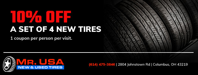 Used Tires Columbus Ohio >> New Used Tires Columbus Oh Mr Usa New And Used Tires