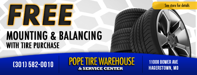 Free Mounting and Balancing with Tire Purchase
