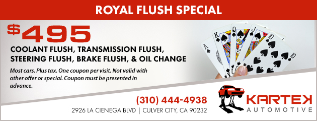 Royal Flush Special