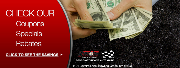 S & R Tire Center Savings