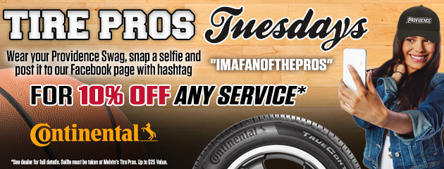 Tire Pros Tuesdays