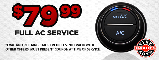 $79.99 Full AC Service Coupon