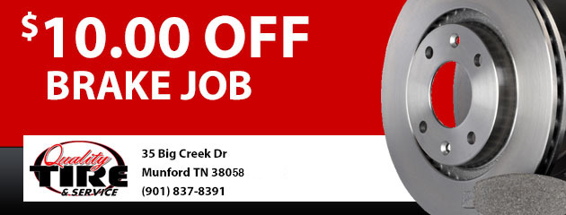 $10 Off Brake Job Coupon