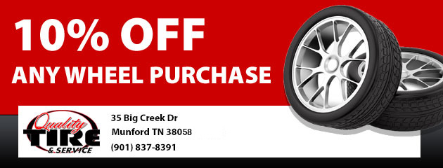 10% Off Any Wheel Purchase