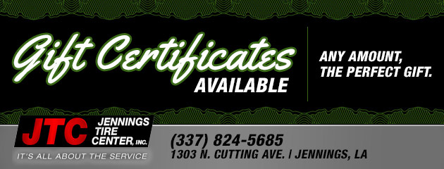 Gift Certificates available.