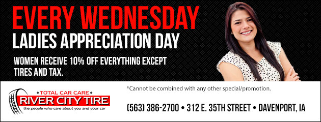 Every Wednesday is Ladies Appreciation Day