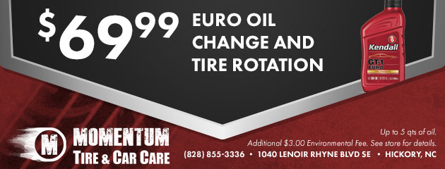$69.99 Euro Oil Change & Tire Rotation