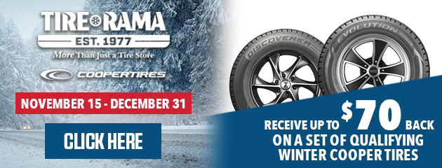 Cooper - Up to $70 On Qualifying Winter Tires