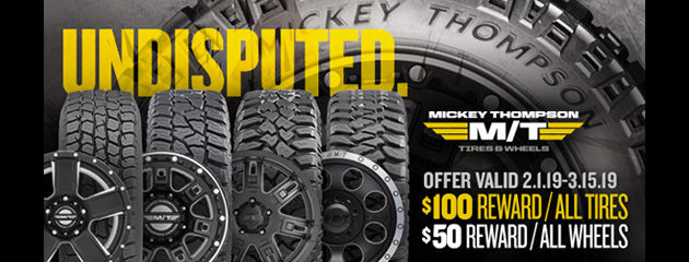 Micky Thompson Canada $100 Reward All Tires