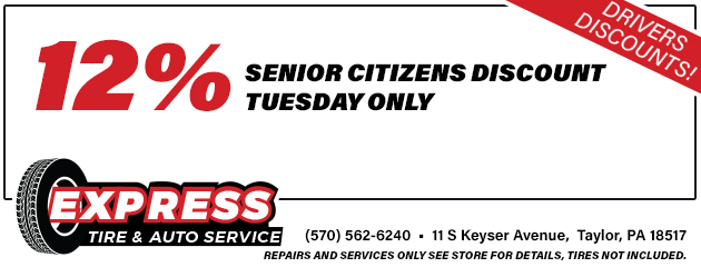 12% Off Senior Citizens