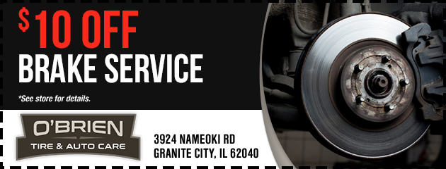 Granite City Coupons >> Coupons Savings At O Brien Tire Service Center Save On Tires
