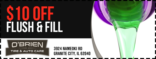 $10 Off Flush & Fill