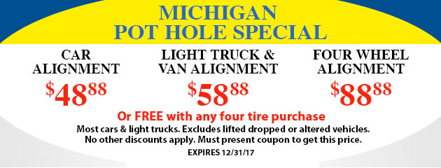 Michigan Pot Hole Special