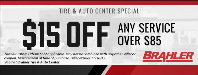 $15 Off Any Service Over $85