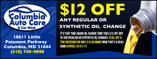 $12 Off Any Oil Change